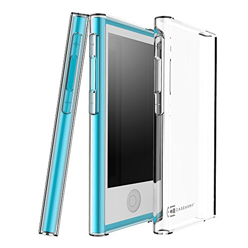 Case Army iPod Nano 7 | 7th & 8 | 8th Generation Clear Case [Manifest] Scratch-Resistant Slim Clear Case for Apple iPod Nano 7th | 8th Gen. Soft Flexible Silicone Crystal Clear Cover with TPU Bumper