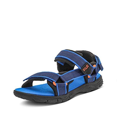 Jack Wolfskin Seven SEAS 3 K Sport Sandalen, Blau (Blue/Orange 1174), 36 EU