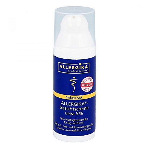 Allergika Gesichtscreme Urea 5%, 50 ml