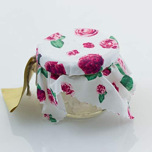 Rosenkandis - 160 g - Weißer Kandiszucker, eingelegt in duftigen Rosengeist