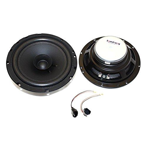 sound-way Haut-parleurs Enceintes bicone 16,5 cm - 120 Watts Compatible avec Peugeot