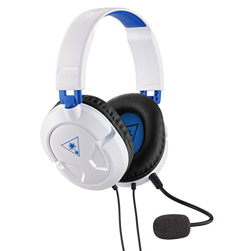 Turtle Beach Recon 50P Weiß Gaming Headset - PS4, PS4 Pro und Xbox One