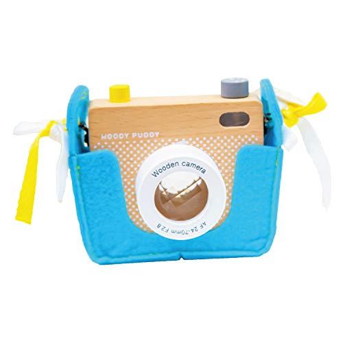 【ウッディプッディ直営限定品】サウンド ウッディカメラ(電池別売り) 誕生日 プレゼント トイカメラ キッズカメラ 木製 木 子供