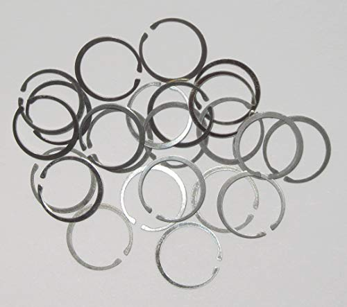 24 Bolt Gas Rings (8 Sets), New and unused