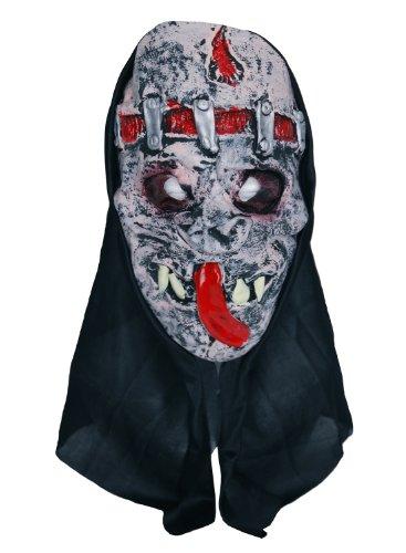 Zombie agrafés et cicatrices Masque en caoutchouc