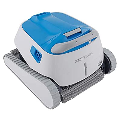 DOLPHIN Proteus DX4 Automatic Robotic Pool Cleaner with Exceptional Cleaning Power, Ideal for Swimming Pools up to 50 Feet