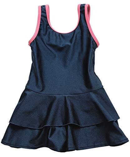 [グロウンチャーム] スクール水着 ショートパンツ インナー付き 女の子 sc0001 ピンク 170cm