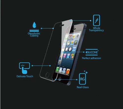 Lusee 2 X Pack Panzerglasfolie Tempered Glass Hartglas Schutzfolie für Huawei Y560 / Y5 4.5 Zoll Folie Protector Displayschutz 0,3mm 9H 2.5D (Nur den flachen Teil abdecken) - 3