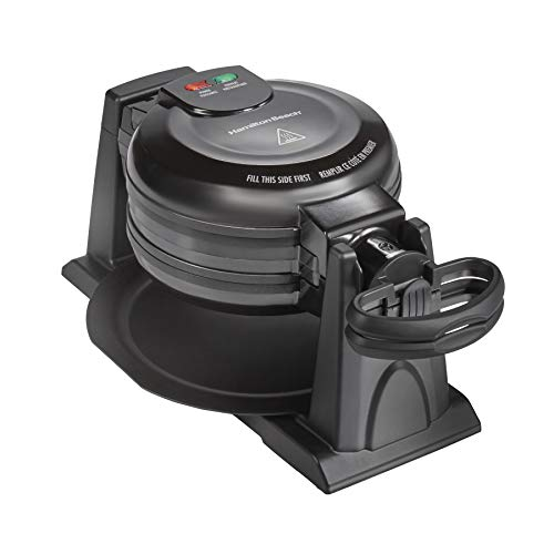 Hamilton Beach 26201 Belgian Waffle Maker with Removable Nonstick...