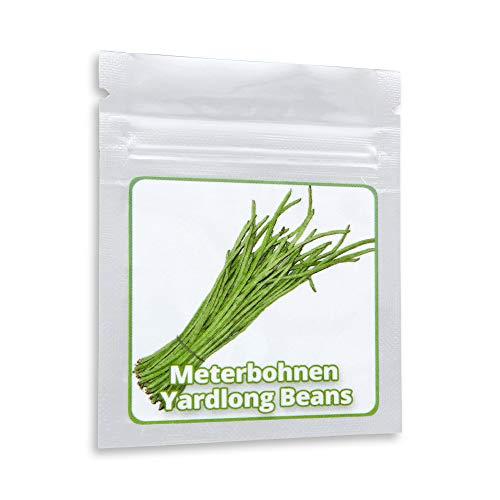 Spargelbohne/Meterbohnen - 20 Samen - bis zu 1m lange Riesenbohnen - Schlangenbohne