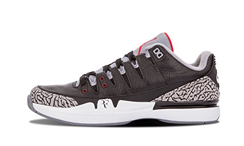 reputable site 91b4e edff2 Nike Mens Zoom Vapor AJ3 Leather Basketball Shoes For Sale