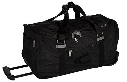 camel active Reisetasche mit Rollen Journey, schwarz, 60x29x30