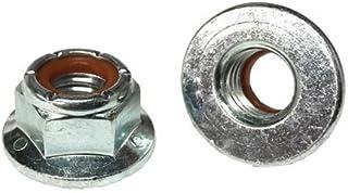 BCP Fasteners Fifteen BCP234 1//2-13 Zinc Plated Nylon Insert Hex Lock Nuts 15