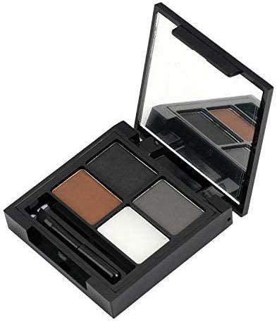 Swiss Beauty Eyebrow Palette (Shape My Brows 3 Brows Powder+1 Wax Cream), Eye MakeUp, Shade-01, 5g