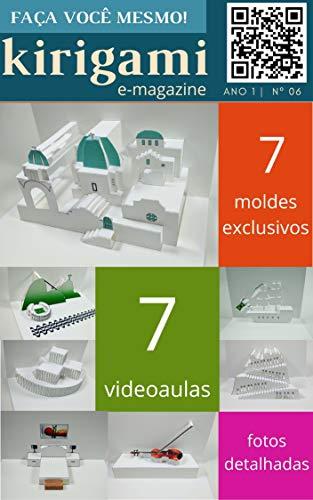 Kirigami - Revista digital nº 006 (Origami arquitetônico Livro 6) (Portuguese Edition)