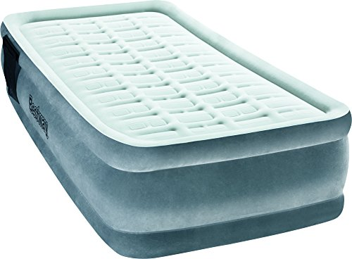 Bestway 67558 - Cama Hinchable Individual Premiere Plus Elevated Inflador Integrado 191x97x43 cm