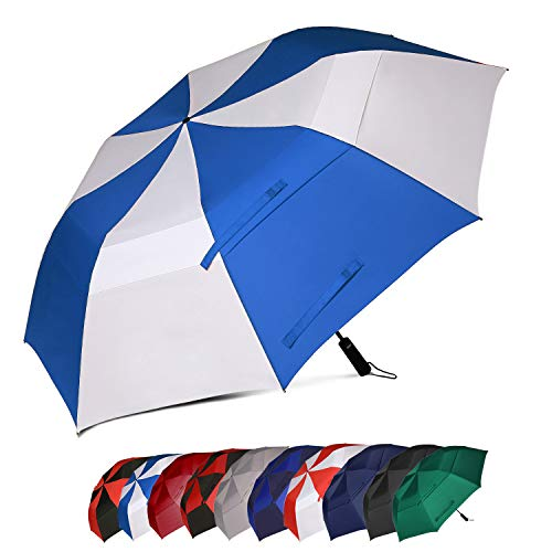 Eono by Amazon - Paraguas de golf XL resistente al viento con doble tela y...