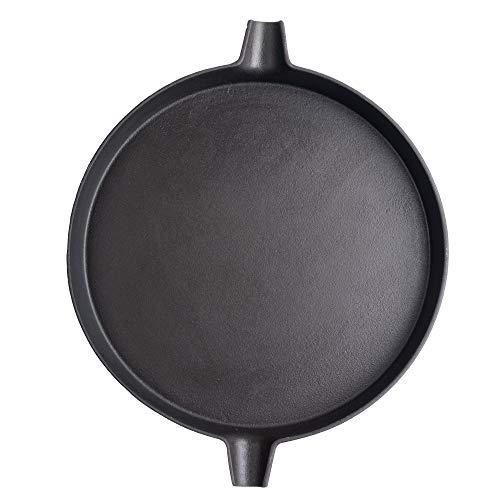 41utVuLYhuL - Tepro Guss-Pfanne-Einleger Hauptrost 57 cm Durchmesser (#8568) Grillrost, Metall, schwarz 31.7 x 31.7 x 3.5 cm
