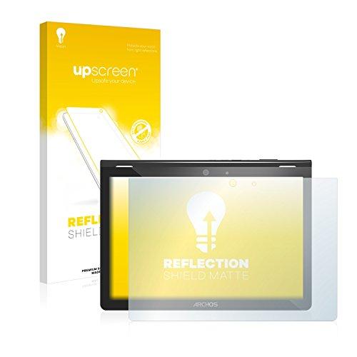 upscreen Entspiegelungs-Schutzfolie kompatibel mit Archos 101 Magnus Plus – Anti-Reflex Bildschirmschutz-Folie Matt