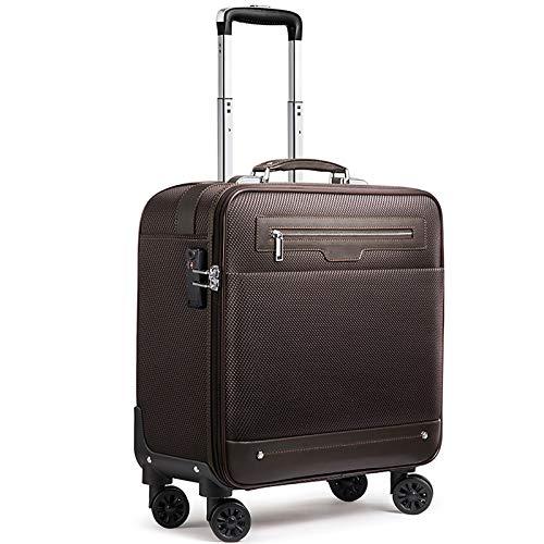 Bolsa de Rodillo diseñada for Negocios, Viajes Profesionales y maletín de cercanías, Ajuste hasta 15.6 Pulgadas (Color : A, Size : 43 * 23 * 52CM)
