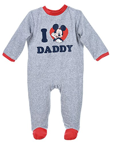 Mickey Mouse Baby Jungen (0-24 Monate) Schlafstrampler Blau Gris/rouge 23 mois