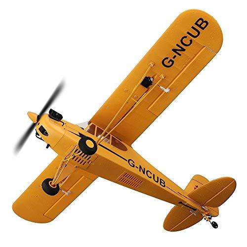 Avión De Control Remoto, Avión RC, Avión RC De Alta Velocidad Mejorado Listo Para Volar Avión De Control Remoto Para Niños Niños Adultos Juguetes Para Principiantes Juegos 3/6 Axis RC Airplane