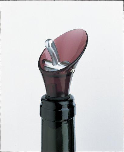 GLOBAL グローバル カラー ワインストッパー&ポアラー ワインレッド8302