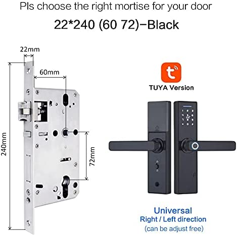 XIAOLI Luxury Door Lock Tuya Biometric SALENEW very popular! Security Fingerprint Intel