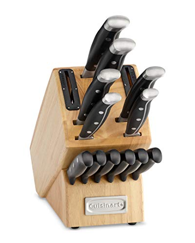 Cuisinart Nitrogen Infused with Built-In Sharpening Cutlery Block Set (15-Piece)