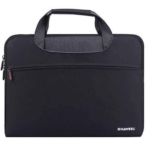 Pumpumly Laptop Bags with Handles Briefcase Water Repellent Laptop Shoulder Bag Satchel Tablet Bussiness Carrying Handbag Laptop Sleeve for Women/Men (13.3 inches)