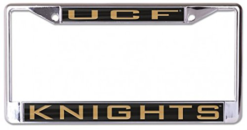 WinCraft Central Florida, University of L350487 Inlaid Metal LIC Plate Frame
