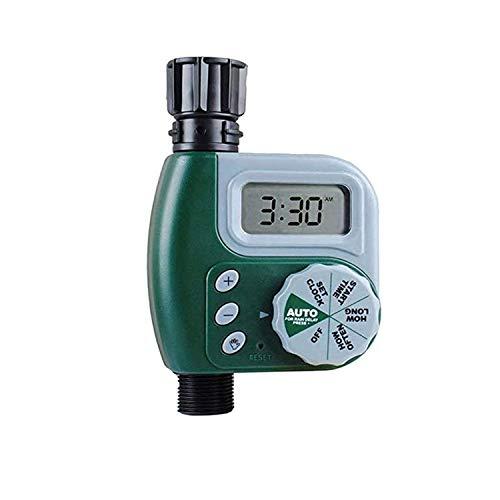 Poweka Programador de Grifo Digital, Automático Temporizador de Grifo Controlador de Agua de Rriego para Jardín