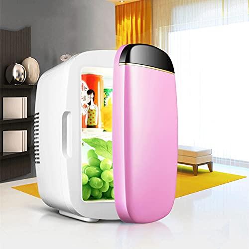 QSWL Congelador portátil para refrigerador y Calentador: Adecuado para Dormitorio, Oficina, Dormitorio o Mini refrigerador de automóviles, (Color : Pink, Size : 31x25x19cm)
