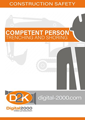 Competent Person Trenching and Shoring Safety Training DVD