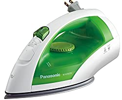 Dry Steam iron with retractable wire
