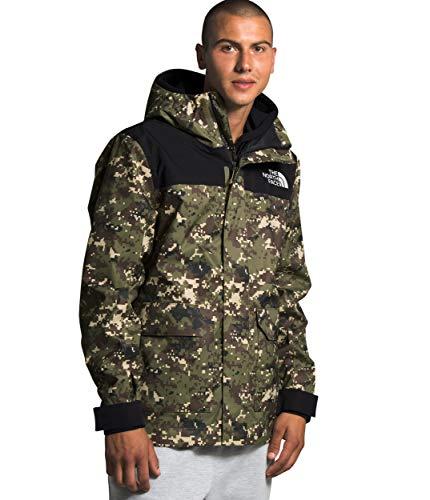 The North Face Men's Cypress Jacket, Burnt Olive Green UX Digi Camo Print, L