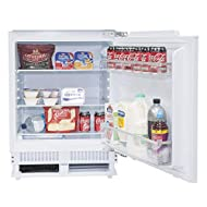 SIA RFU101 60cm 142L White Integrated Under Counter Fridge With Auto Defrost With Metal Back