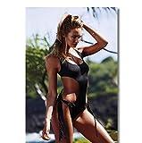 DNJKSA Candice Swanepoel Poster Bikini Model Sexy Bilder