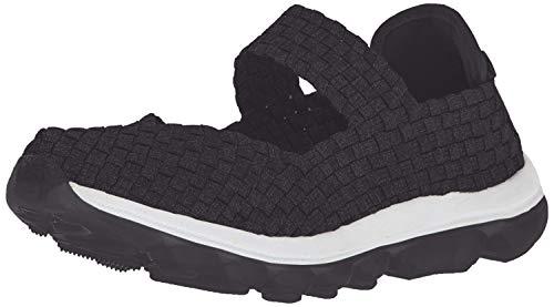 Bernie Mev Women's Gummies Charm Flat, Black, 41 EU/10.5 M US