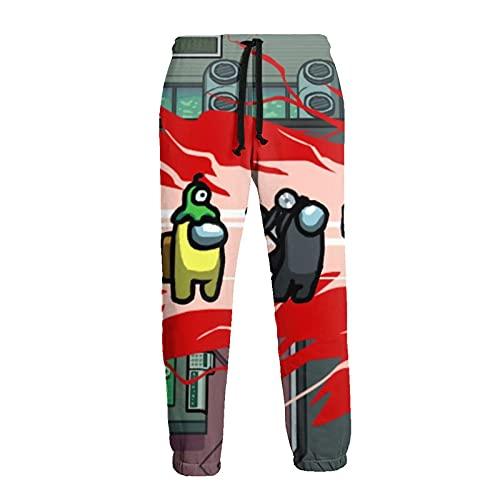 Inaayayi Pantaloni della tuta casual da uomo pantaloni allentati pantaloni atletici pantaloni yoga, 4 Tra Us2, L