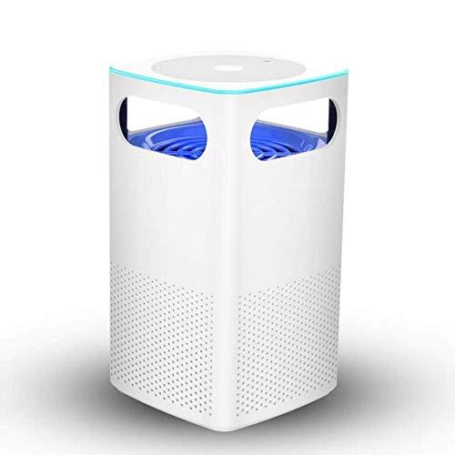 Novopus: USB-Fotokatalysator-Mückenvernichter, strahlungsfreies, ultraleises wiederaufladbares elektronisches UV-LED-Moskito-Leuchtmittel Umweltfreundliches Schlafzimmer/Badezimmer