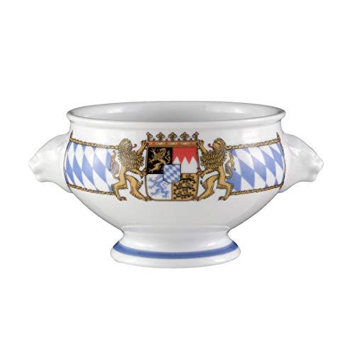 Seltmann Weiden 001.455849 Compact Bayern leeuwenkopterrine 0,50 L, blauw/wit/geel/rood