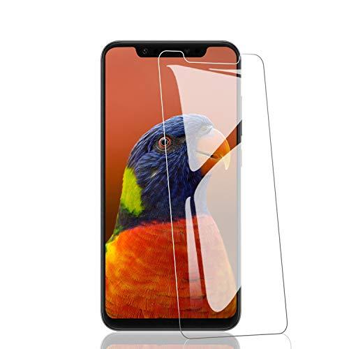 RIIMUHIR Panzerglas Schutzfolie für Xiaomi Mi 8, [3 stück] 9H Härte Panzerglasfolie, 3D Touch, Anti-Kratzer Schutzglas, Anti-Öl, Blasenfreie Transparent, Xiaomi Mi 8 Displayschutzfolie