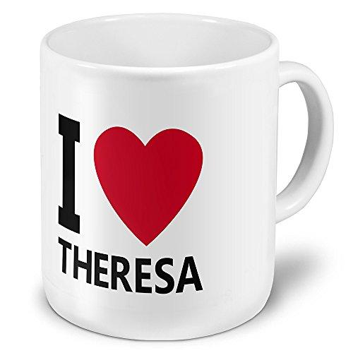"""XXL Riesen-Tasse mit Namen """"Theresa"""" - Jumbotasse mit Design"""