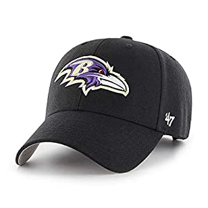 '47 Brand Baltimore Ravens MVP Hat Cap Black
