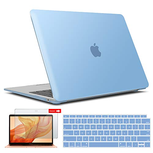 IBENZER New 2020 MacBook Air 13 inch Case M1 A2337 A2179 A1932, Hard Shell Case & Keyboard Cover & Screen Film for Apple…