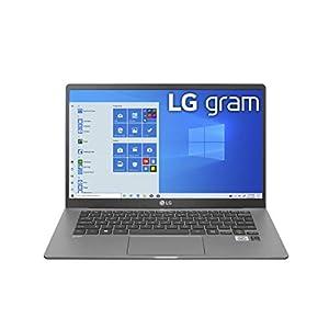 LG Gram Laptop – 14″ Full HD IPS Display, Intel 10th Gen Core i7-1065G7 CPU, 16GB RAM, 512GB M.2 MVMe SSD, Thunderbolt 3, 18.5 Hour Battery Life – 14Z90N (2020)