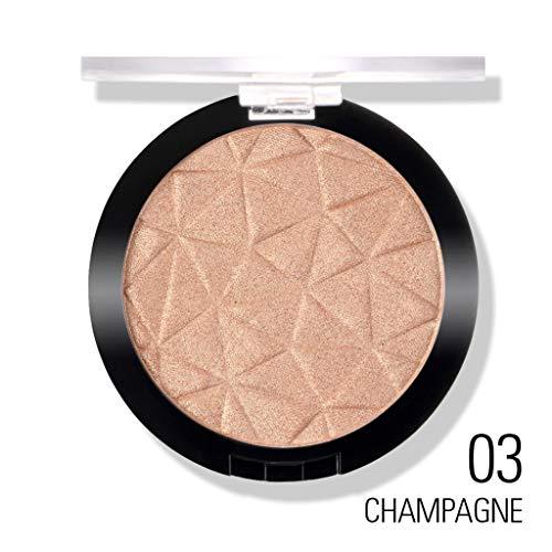 jiheousty Textmarker Make-up Puder 3 Farben Kosmetik Kontur Palette Gesicht Bronzer