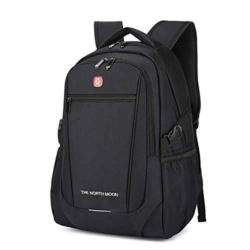 トラベルラップトップバックパック、ビジネスコンピューターバッグ、ユニセックス、15.6インチラップトップに適しています(ブラック)