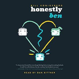 Honestly Ben audiobook cover art